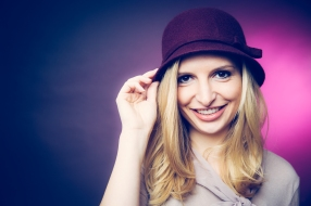 Hut ab - Moderatorin Janine Mehner // Fotocredit: Anna Lena Ehlers